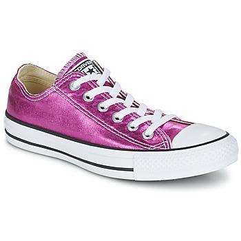 Schoenen Dames Lage sneakers Converse CHUCK TAYLOR ALL STAR SEASONAL METALLICS OX Roze / Métallisé