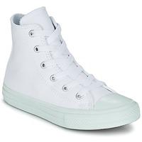 Schoenen Meisjes Hoge sneakers Converse CHUCK TAYLOR ALL STAR II PASTEL SEASONAL TD HI Wit / Blauw / CIEL