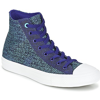 Schoenen Heren Hoge sneakers Converse CHUCK TAYLOR ALL STAR II OPEN KNIT HI Blauw