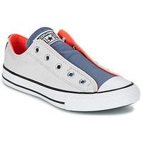 Schoenen Kinderen Lage sneakers Converse CHUCK TAYLOR ALL STAR SLIP SUMMER FUNDAMENTALS SLIP Grijs / Blauw / Orange