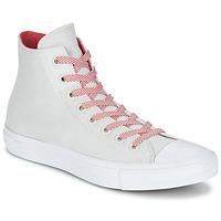 Schoenen Hoge sneakers Converse CHUCK TAYLOR ALL STAR II BASKETWEAVE FUSE HI Ecru / Wit / Rood