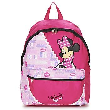 Tassen Meisjes Rugzakken Disney MINNIE SCRATCH DOTS SAC A DOS BORNE Roze