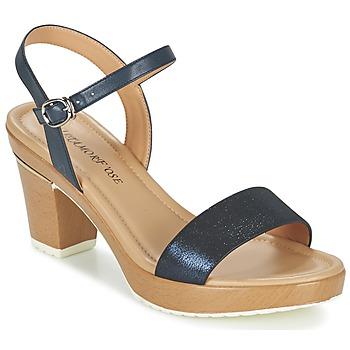 Schoenen Dames Sandalen / Open schoenen Metamorf'Ose ZACQUESTE Blauw / Brown