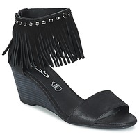 Schoenen Dames Sandalen / Open schoenen LPB Shoes NADIA Zwart