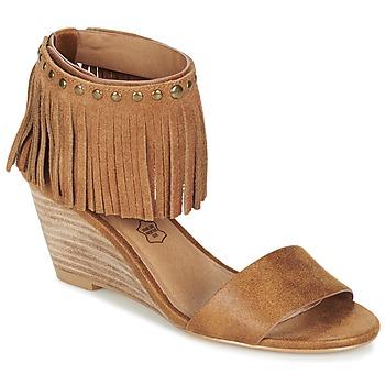 Schoenen Dames Sandalen / Open schoenen LPB Shoes NADIA  camel