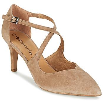 Schoenen Dames Sandalen / Open schoenen Tamaris DROL Natuur