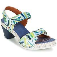 Schoenen Dames Sandalen / Open schoenen Art I  ENJOY Blauw / Groen