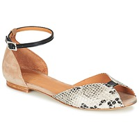 Schoenen Dames Sandalen / Open schoenen Emma Go JULIETTE Beige / Zwart