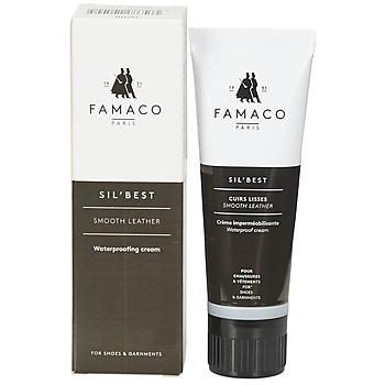 Accessoires Schoenpoets Famaco Tube applicateur cirage noir 75 ml Zwart