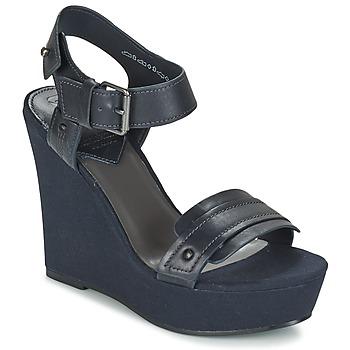 Schoenen Dames Sandalen / Open schoenen G-Star Raw CLARO WEDGE Marine