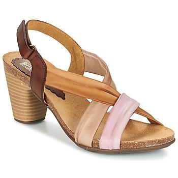 Schoenen Dames Sandalen / Open schoenen Bunker LIZ Brown / Roze
