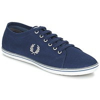 Schoenen Heren Lage sneakers Fred Perry KINGSTON TWILL Marine