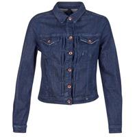 Textiel Dames Spijker jassen Benetton FESCAR Blauw / Donker