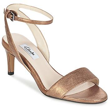 Schoenen Dames Sandalen / Open schoenen Clarks AMALI JEWEL Goud