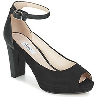 Schoenen Dames Sandalen / Open schoenen Clarks KENDRA ELLA Zwart