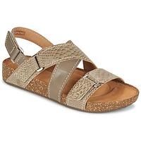 Schoenen Dames Sandalen / Open schoenen Clarks ROSILLA ESSEX Brown