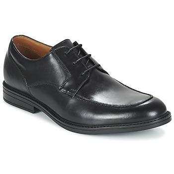 Schoenen Heren Derby Clarks BECKFIELDAPRON Zwart