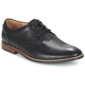 Schoenen Heren Derby Clarks BROYD WALK Zwart