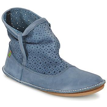 Schoenen Dames Laarzen El Naturalista FORMENTERA Blauw