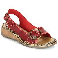 Schoenen Dames Sandalen / Open schoenen Fly London TRAMFLY Rood