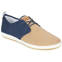 Schoenen Heren Lage sneakers Lafeyt MARTE SUMMER CHAMBRAY Marine / Beige