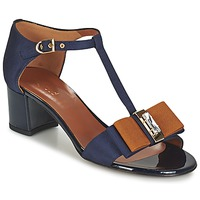 Schoenen Dames Sandalen / Open schoenen Heyraud ENAEL Blauw / Brown / Zwart