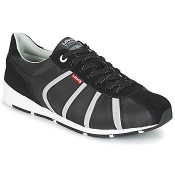 Schoenen Heren Lage sneakers Levi's ALMAYER II Zwart / Wit