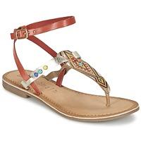 Schoenen Dames Sandalen / Open schoenen Lola Espeleta ELODIE Rood / Zilver