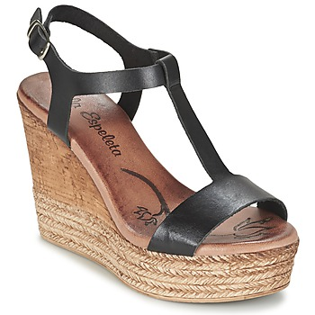 Schoenen Dames Sandalen / Open schoenen Lola Espeleta PATSY Zwart
