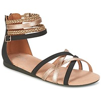 Schoenen Meisjes Sandalen / Open schoenen Bullboxer REVILZOA Zwart / Goud