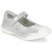 Schoenen Meisjes Ballerina's Mod'8 PRISCA Zilver