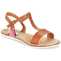 Schoenen Dames Sandalen / Open schoenen Coolway MONKY Brown