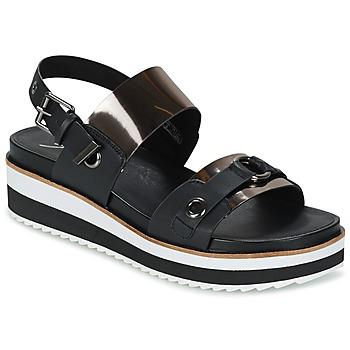 Schoenen Dames Sandalen / Open schoenen Coolway DOLPHIN Zwart