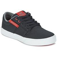 Schoenen Kinderen Lage sneakers Supra KIDS STACKS II VULC Zwart / Rood