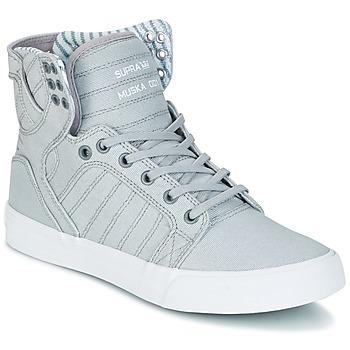 Schoenen Hoge sneakers Supra SKYTOP Grijs