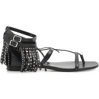 Schoenen Dames Sandalen / Open schoenen Saint Laurent 416400 B3400 1000 nero