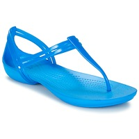 Schoenen Dames Sandalen / Open schoenen Crocs CROCS ISABELLA T-strap Blauw