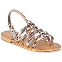 Schoenen Dames Sandalen / Open schoenen Les Tropéziennes par M Belarbi HERISSON Zilver / Multikleuren