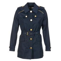 Textiel Dames Trenchcoats MICHAEL Michael Kors ZIPPER YOKE TRENCH Marine