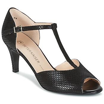 Schoenen Dames Sandalen / Open schoenen Peter Kaiser NELA Zwart