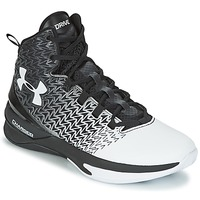 Schoenen Heren Basketbal Under Armour UA ClutchFit Drive 3 Zwart / Wit