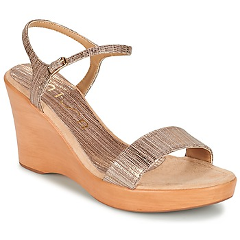 Schoenen Dames Sandalen / Open schoenen Unisa RITA TAUPE