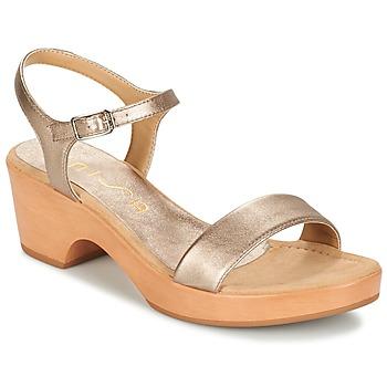 Schoenen Dames Sandalen / Open schoenen Unisa IRITA Zilver