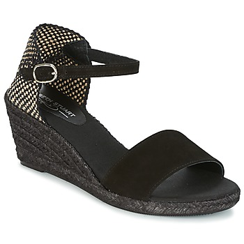 Schoenen Dames Espadrilles Elizabeth Stuart TREVISE Zwart