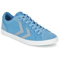 Schoenen Lage sneakers Hummel DEUCE COURT SUMMER Blauw