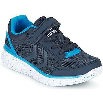 Schoenen Kinderen Lage sneakers Hummel CROSSLITE JR Marine