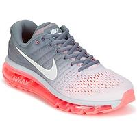 Schoenen Dames Running / trail Nike AIR MAX 2017 Grijs / Roze