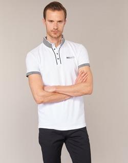 Textiel Heren Polo's korte mouwen Deeluxe SQUART Wit
