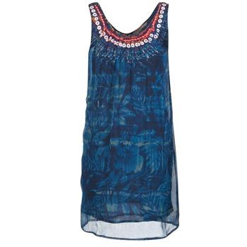 Textiel Dames Korte jurken Desigual LIORISE Blauw