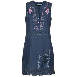Textiel Dames Korte jurken Desigual LIRASE Blauw